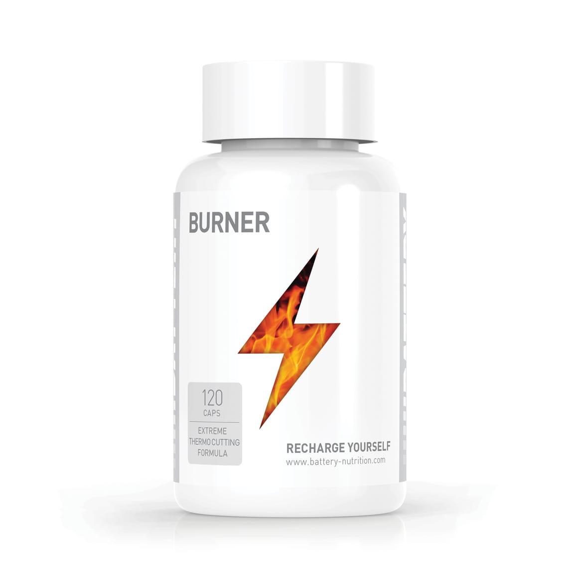 Battery Burner, 120 caps