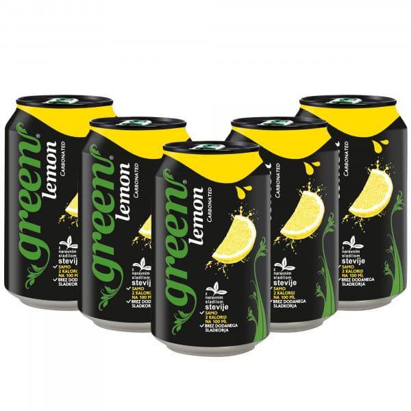 Green Lemon 24x330ml
