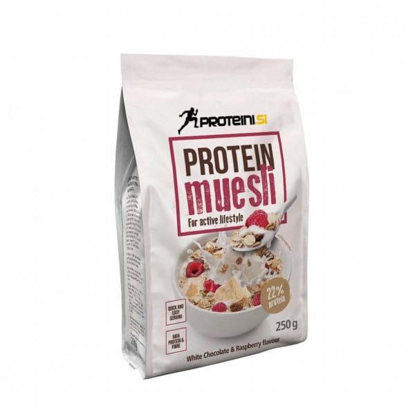 Proteini Protein Muesli 250g White Chocolate Raspberry