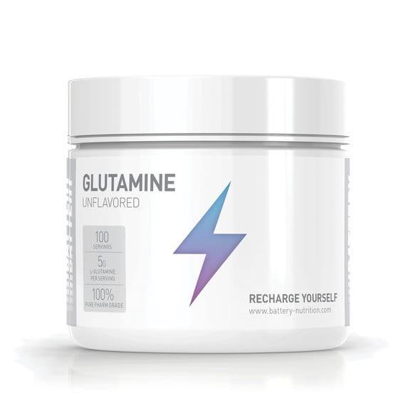 Battery Glutamine Unflavored, 500g