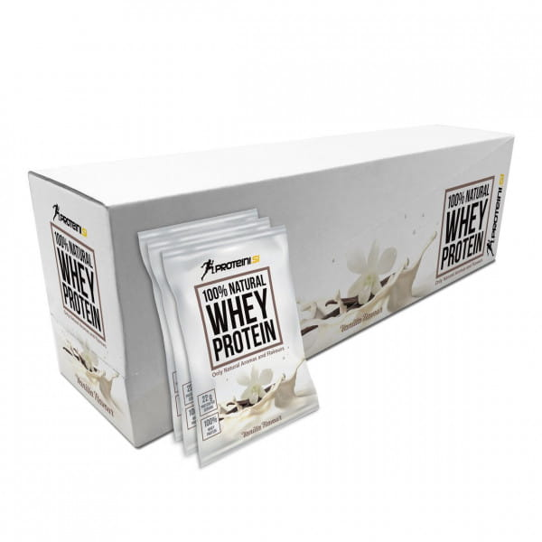 Proteini 100% Natural Whey Protein 35x30g