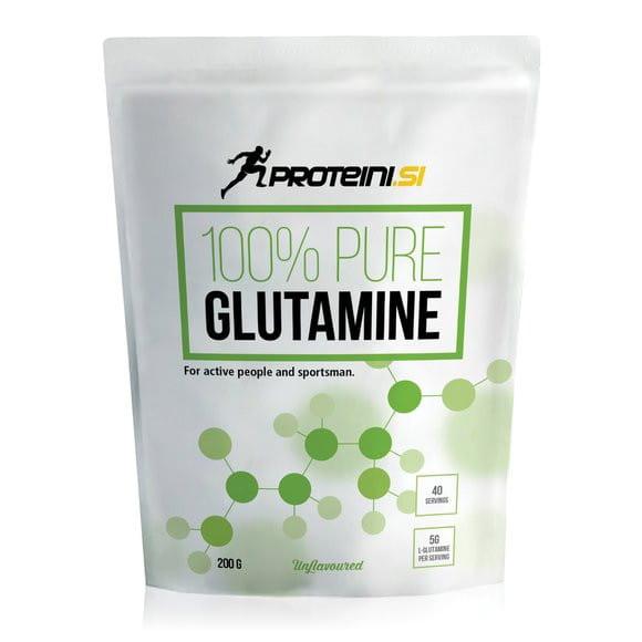Proteini 100% Pure Glutamine, 200g