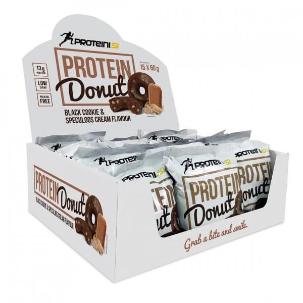 Proteini Protein Donut 15x60gr. Black Cookie & Speculos Cream