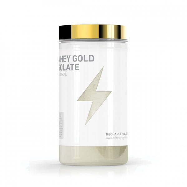 Battery Whey Gold Isolate, 600g