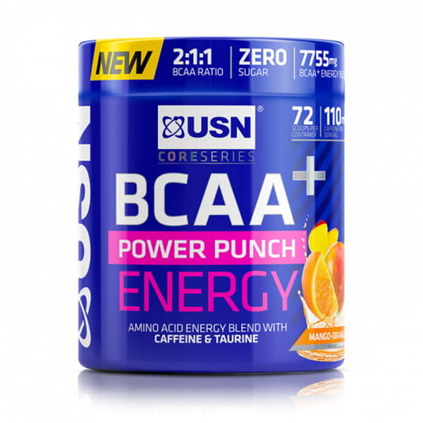 USN BCAA Power Punch Energy, 400g