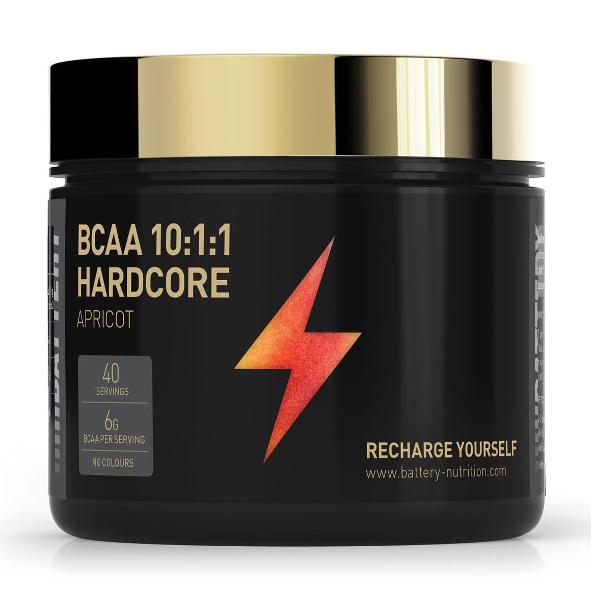Battery BCAA 10:1:1 Hardcore, 300g
