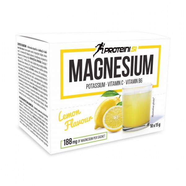 Proteini Magnesium 10x15gr. Lemon
