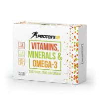 Proteini Vitamins, Minerals & Omega 3, 30 tabs + 30 caps