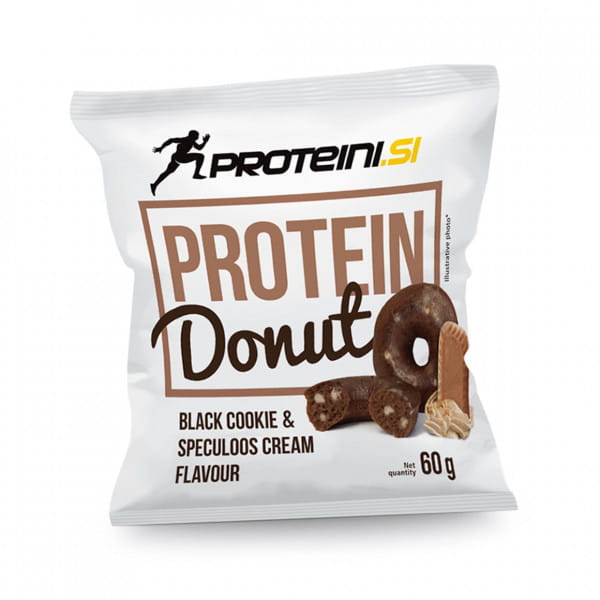 Proteini.ch Protein Donut 1x60gr. Black Cookie & Speculos Cream