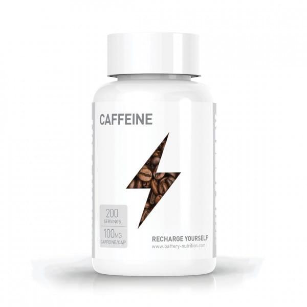Battery Caffeine, 200 caps
