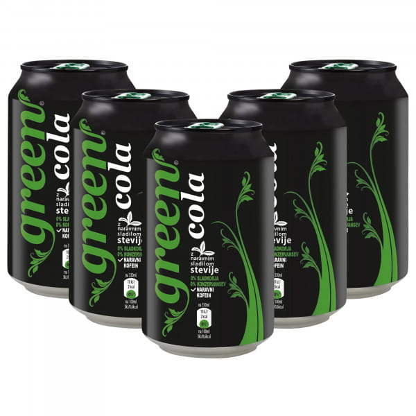 Green Cola 6x330ml