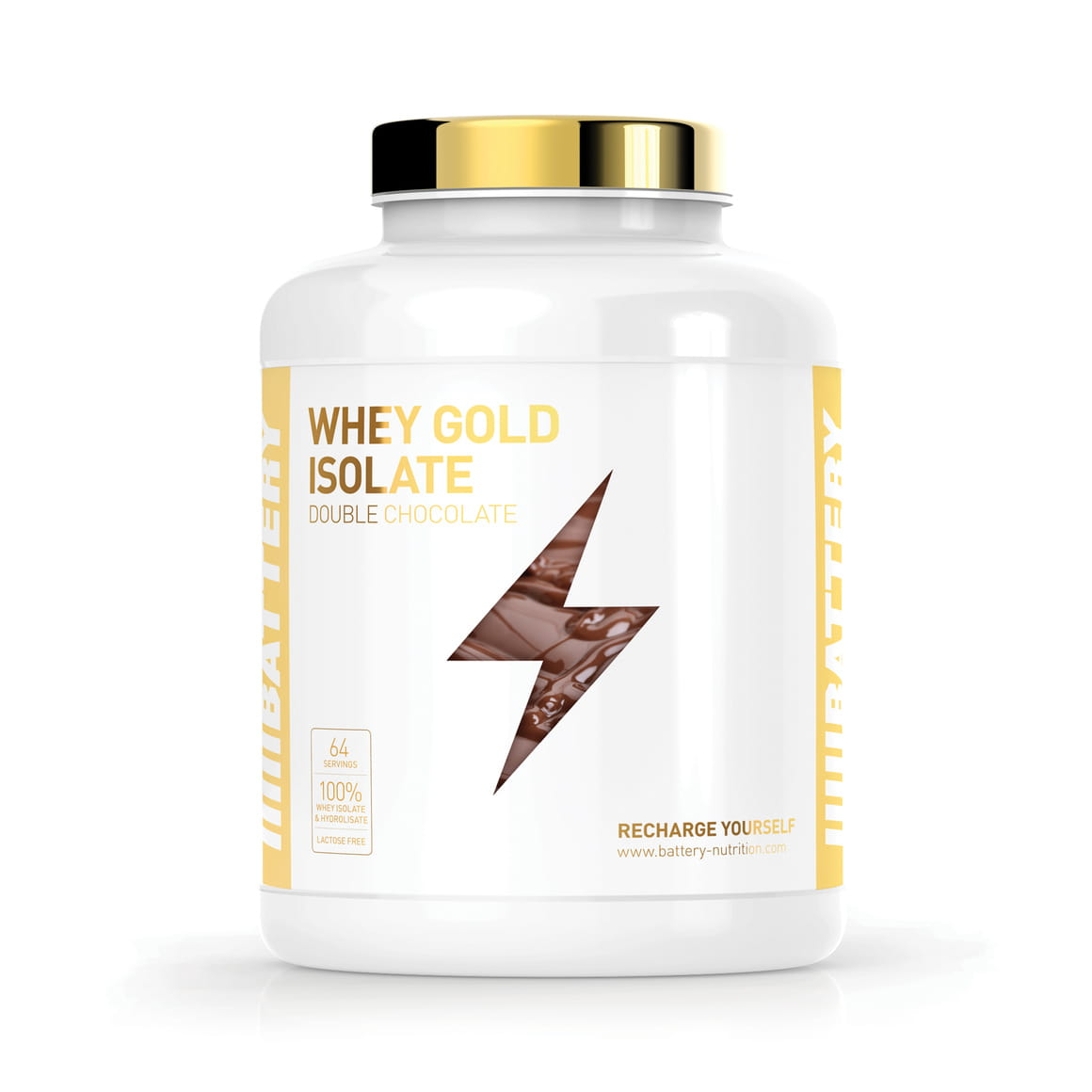 Battery Whey Gold Isolate, 1600g