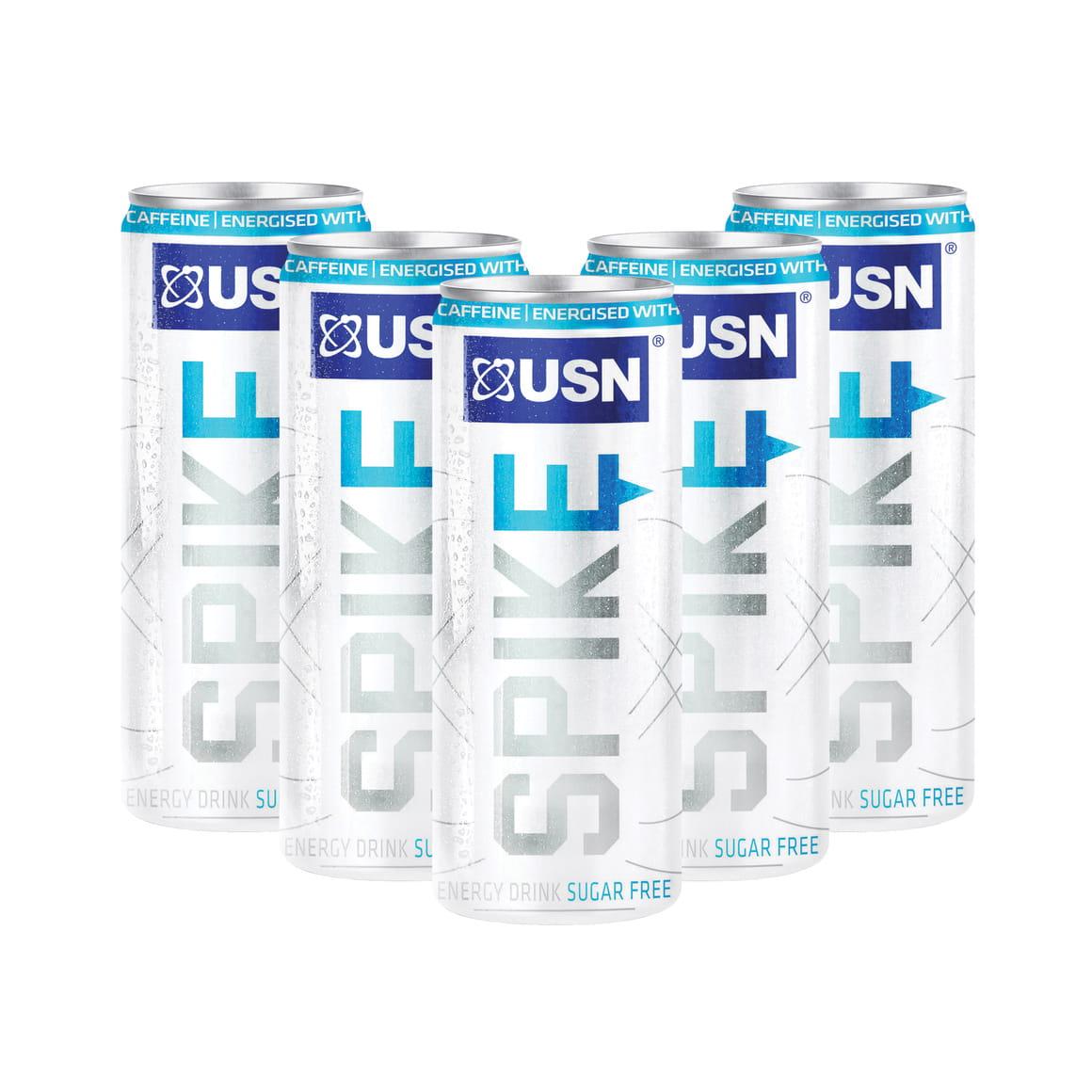USN Spike Sugar Free Energy Drink, 24x250ml