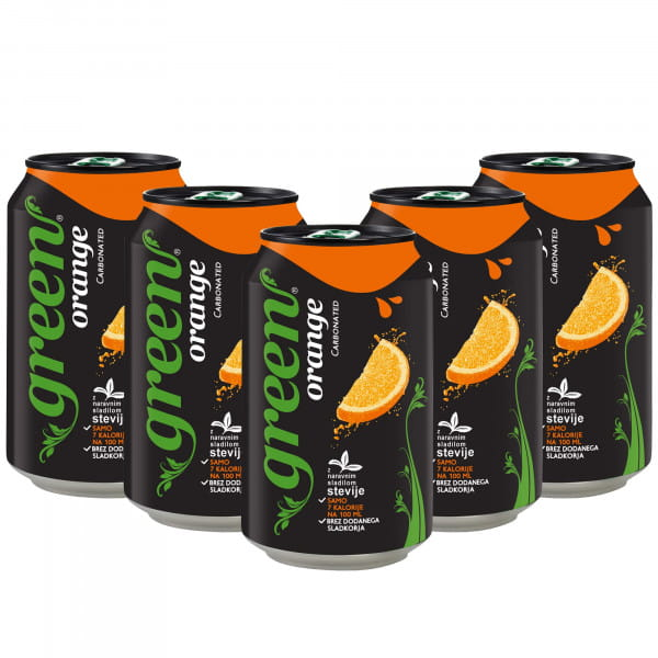 Green Orange 24x330ml