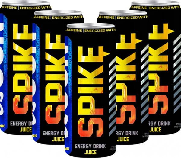 USN Spike Hardcore Energy JUICE, 24x250ml