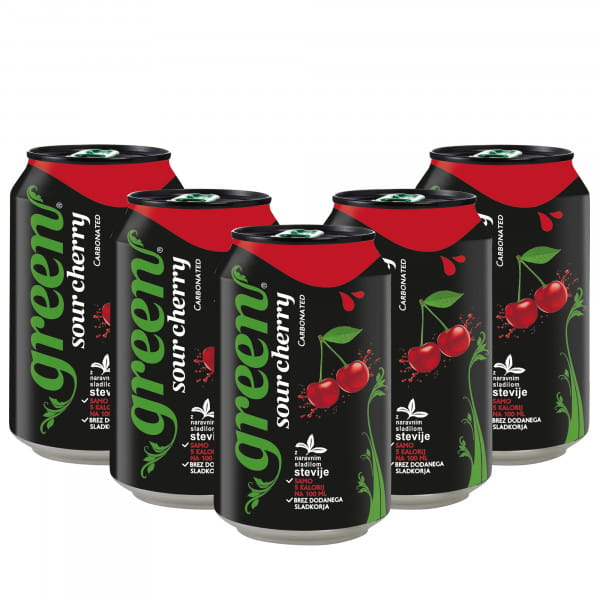 Green Sour Cherry 6x330ml