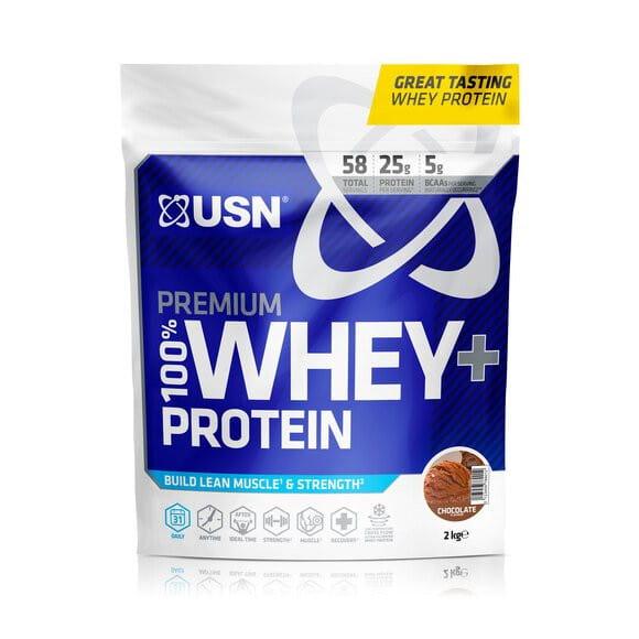 USN 100% Whey Premium Protein - Bag, 2000g