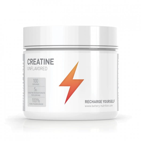 Battery Creatine Unflavored, 500g